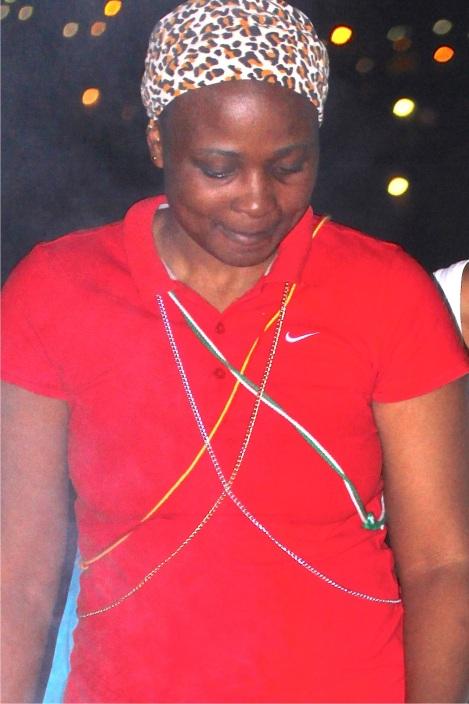 The portrait of Ziningi Ndovela by Charmain Carrol (2015/02/27).