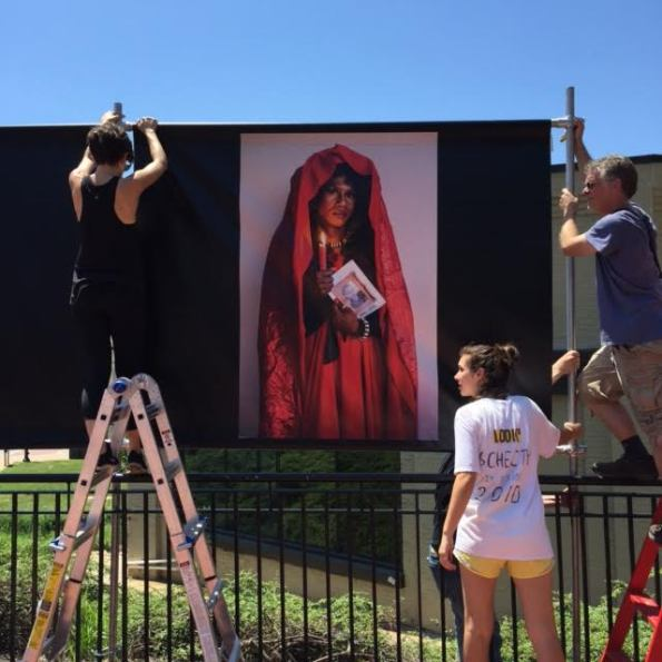 2015 May 30 Muholi installation @ Look3