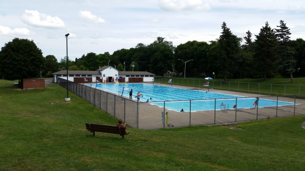 The suburb also has swimming pool located at the park...