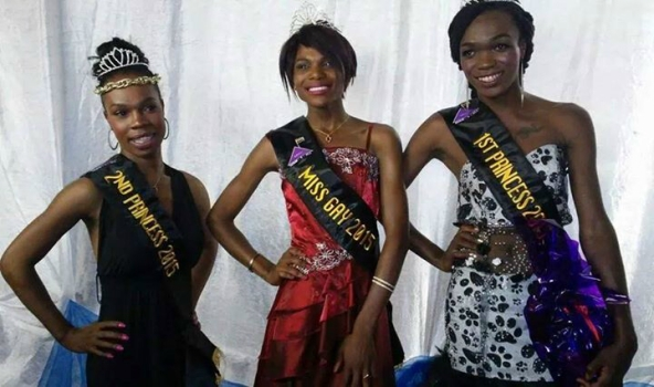 Somizy at the 2014 Miss Gay Ekurhuleni