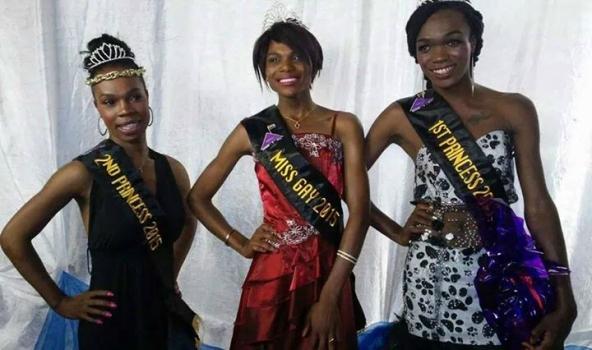 Somizy at the 2014 Miss Gay Ekurhuleni