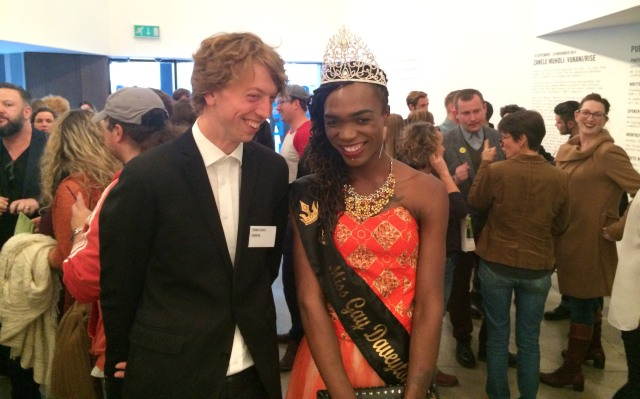 2015 Sept. 17 Somizy & Thomas Duke @ OEG _ Vukani opening
