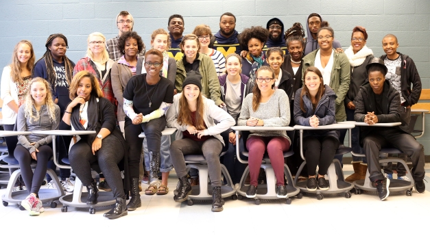 2015 Oct. 5 Human Right Class _ Frieka Ekotto _ Michigan U_6922