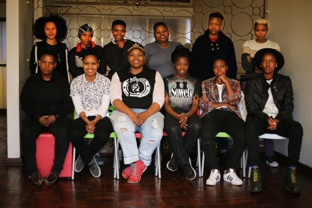 2016 Aug. 20 Group photo ft SJ Lerato Sade Lebo Terra Phumzile Rene Sebe Muholi Collen Lesego_3137