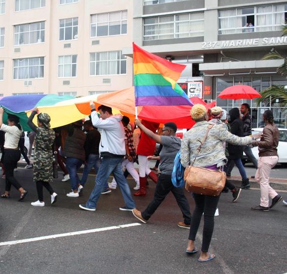 2016 July 23 Durban Pride _ Rainbow flag _3044