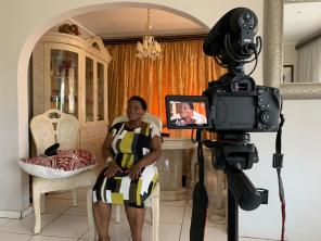 06.03.2019 Interview at Nonhlanhla's home by Terra