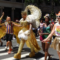 _Gold and wings world Pride