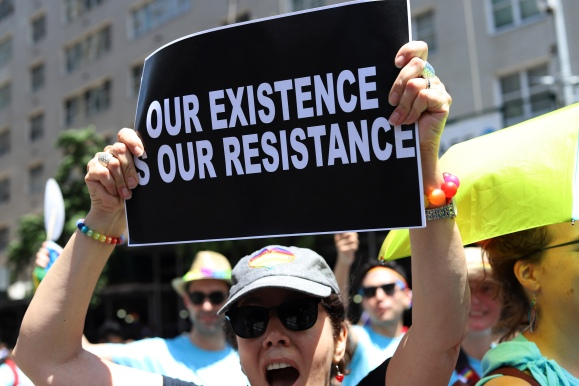 _Our existence is our resistance